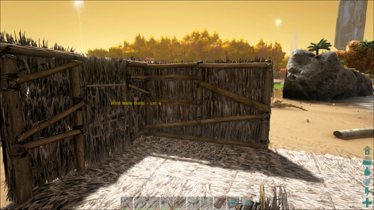 In Ark a bigger house is often a better house, since you can store more and have more crafting options.