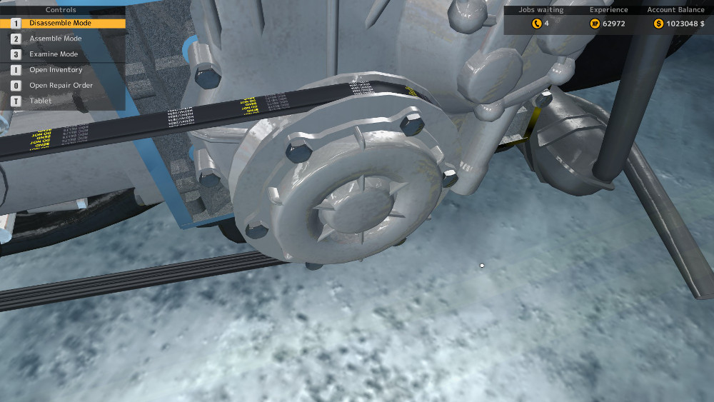 The Oil Filter on the Maluch is completely different in both appearance and location than any of the other oil filters in Car Mechanic Simulator 2015.