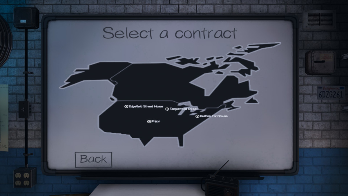 Assignment locations in Phasmophobia