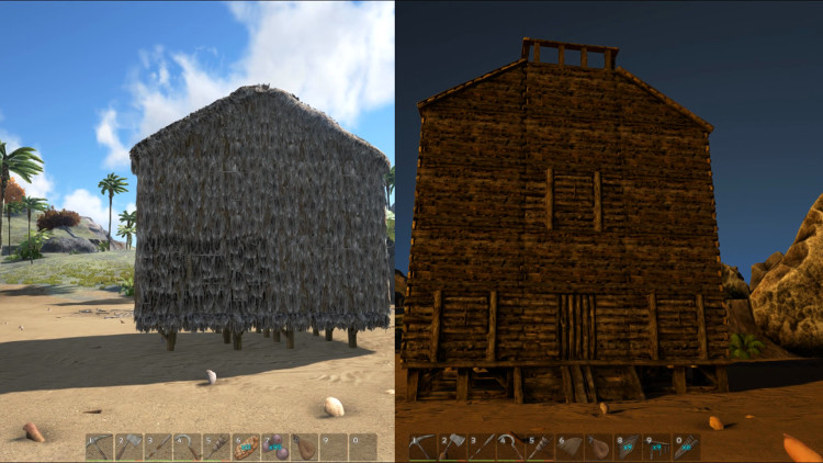 Detailed step-by-step guide to upgrading your structures in Ark Survival Evolved.