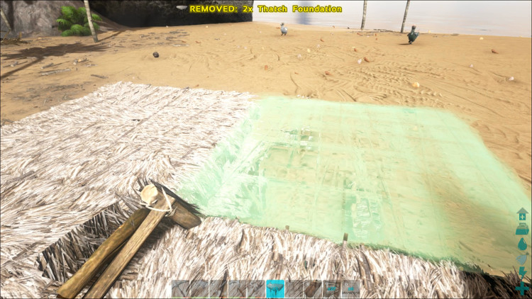 Flat ground is your best bet when installing the foundations for your first base in Ark Survival Evolved.