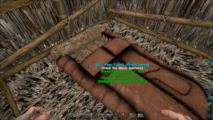 A single-foundation house is too small to hold more than one or two items. In Ark you really need a larger house.
