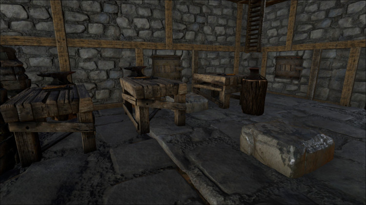 The Smithy is one of the most heavily used crafting stations in Ark. You'll be using it for both crafting and repairing items and structures.