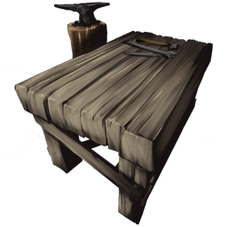 The Smithy is the third crafting station that you can unlock in Ark. It is used to fashion Metal into various tools and weapons.