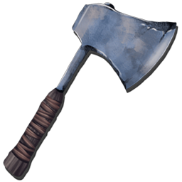 The Metal Hatchet is the main handheld tool for gathering wood in Ark. It will also produce small amounts of Thatch.