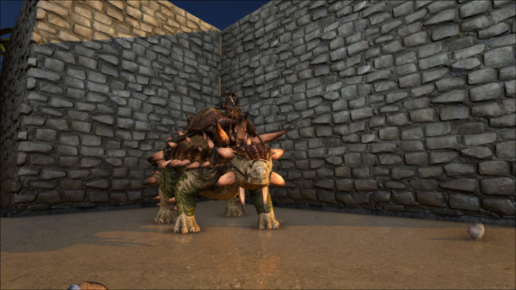 The Ankylosaurus is a fairly common Dino in Ark. It is excellent for harvesting resources from rocks.