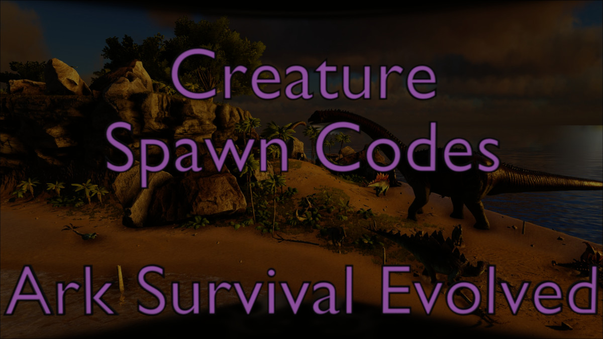 Complete searchable listing of all creature spawn codes in Ark.