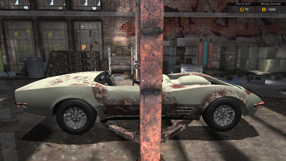 With the Car Stripping DLC from Car Mechanic Simulator 2015 you have an opportunity to make some extra cash and possibly get some parts along the way.