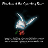 Detailed walkthrough for the Ghost Master assignment Phantom of the Operating Room.
